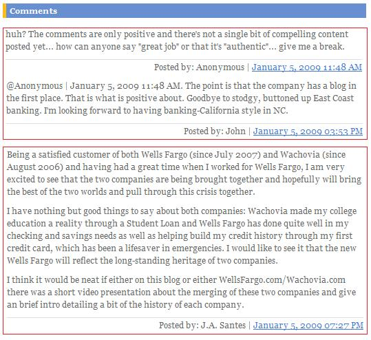 TheWellsFargoWachoviaBlog-Comments-CustomerandEmployeeAdvocacy
