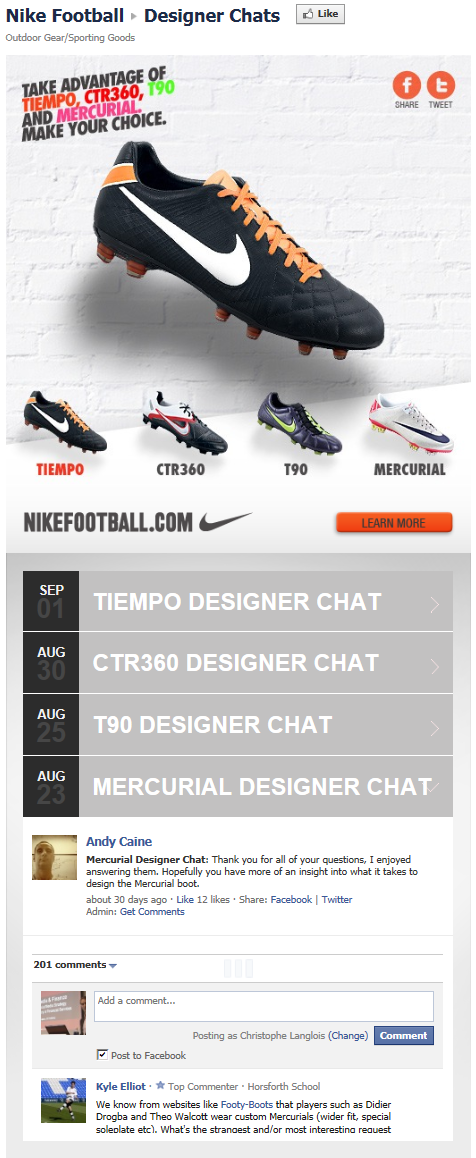 FB-Page-SportingGoods-NikeFootball-Tab-DesignerChats