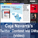 Caja Navarra Launches an Innovative Twitter Contest Based on DMs (Spain)