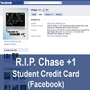 R.I.P. Chase +1 on Facebook. Long Live American Express.