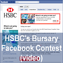 UK Banks Leverage Social Media to Target Students (1/2): HSBC's Bursary Facebook Contest
