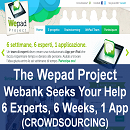 The Wepad Project: Italy's Webank Invites 6 Experts (and You) to Help Them Create in 6 Weeks the Best iPad Application for Banking